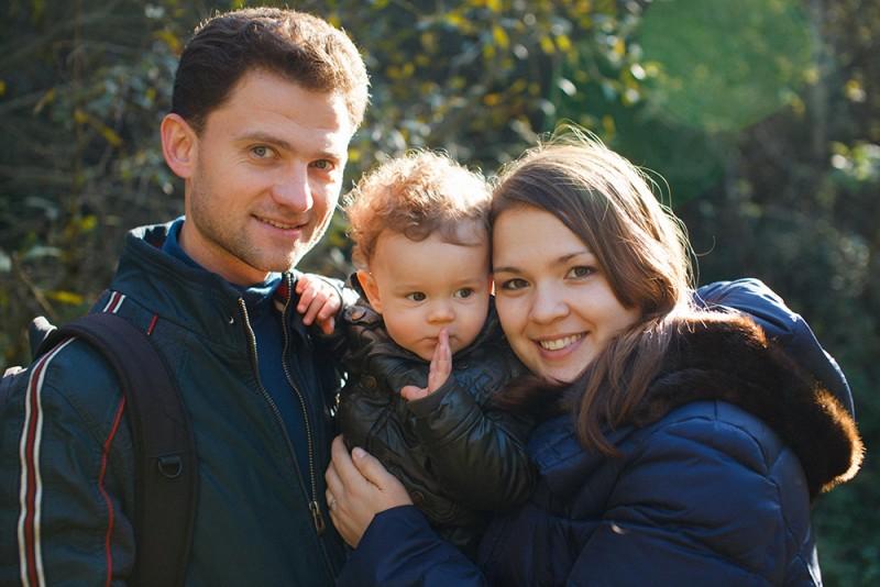 Nastya, Sasha and Sashka, 12 months