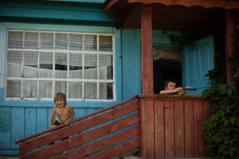 Dacha life - Masha and Gosha