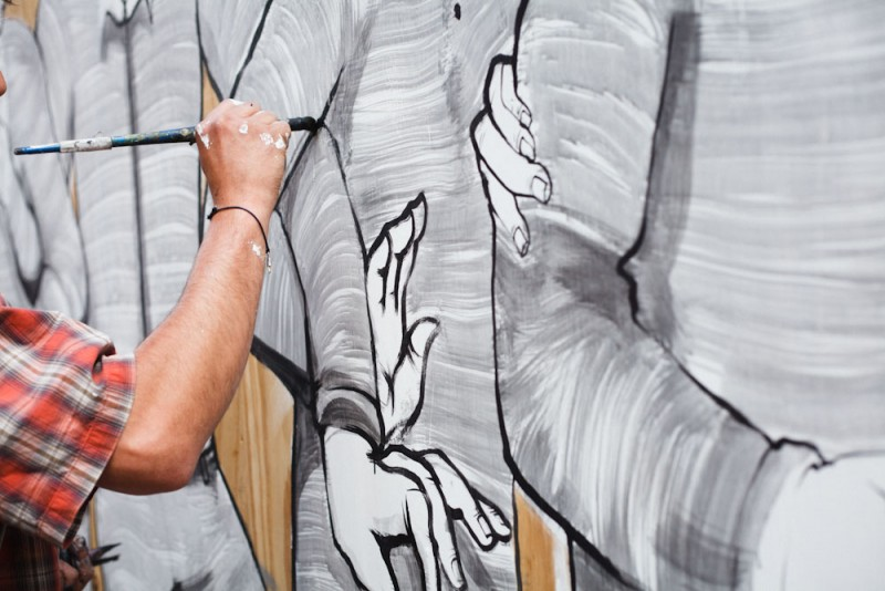 Clapton festival - wall drawing_04